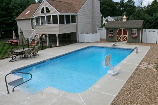 10B Rectangle Inground Pool