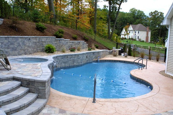 11A Custom Inground Inground Pool - Hebron, CT
