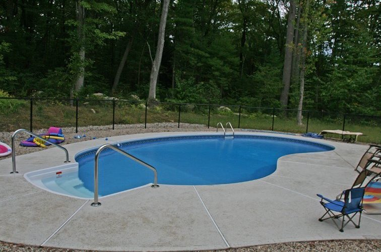 11B Kidney Inground Pool -Northampton, MA