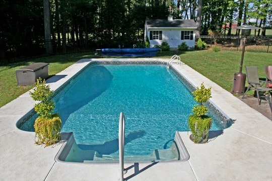 13A Rectangle Inground Pool