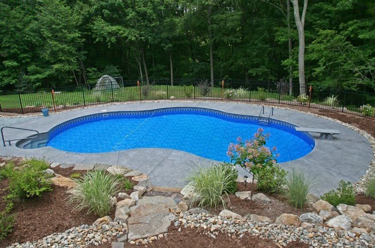 13D Custom Inground Inground Pool - Tolland, CT