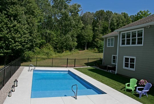 15B Custom Inground Inground Pool - Manchester, CT