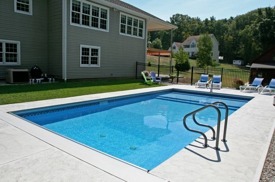 15D Custom Inground Inground Pool - Manchester, CT