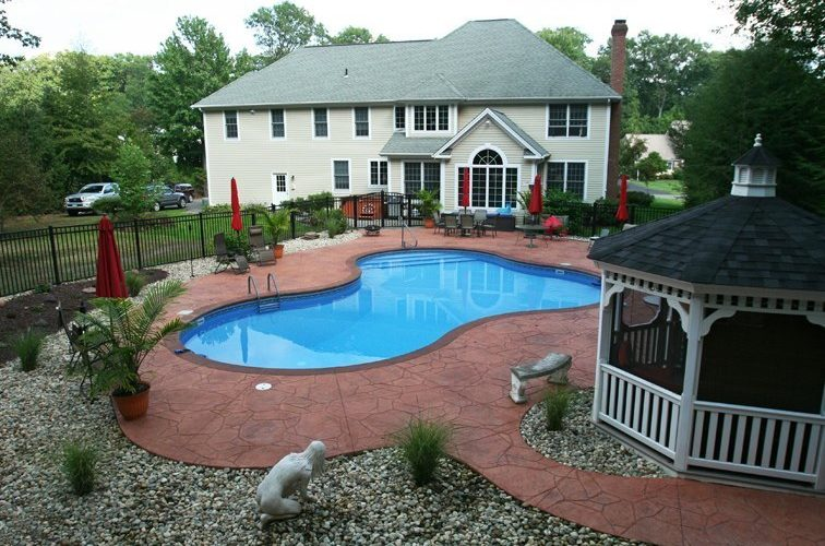 16D Lagoon Inground Pool - Farmington, CT