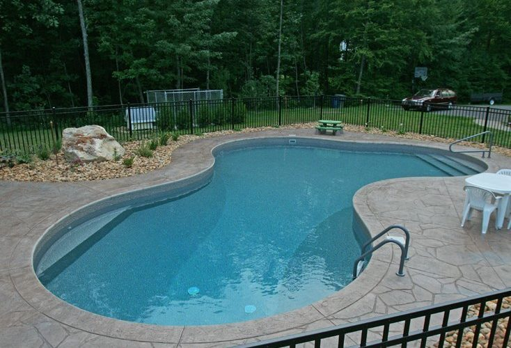 17A Lagoon Inground Pool - North Granby, CT