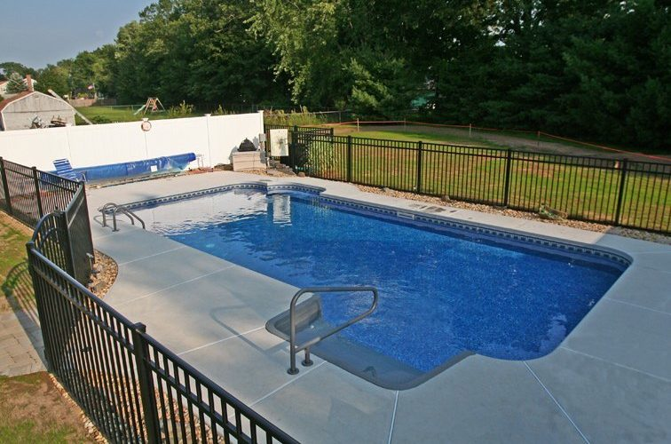 17A Rectangle Inground Pool