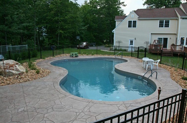 17B Lagoon Inground Pool - North Granby, CT