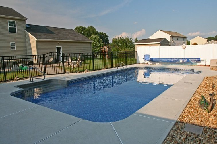 17D Rectangle Inground Pool