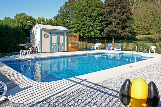 18A Rectangle Inground Pool