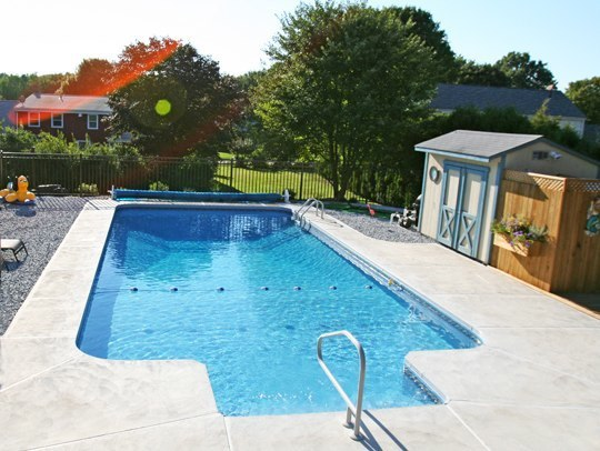 18C Rectangle Inground Pool