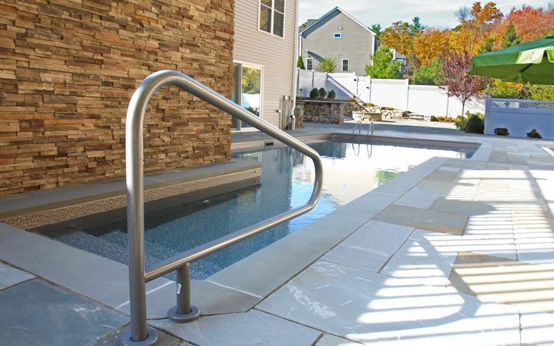 19C Custom Inground Inground Pool - Ashland, CT