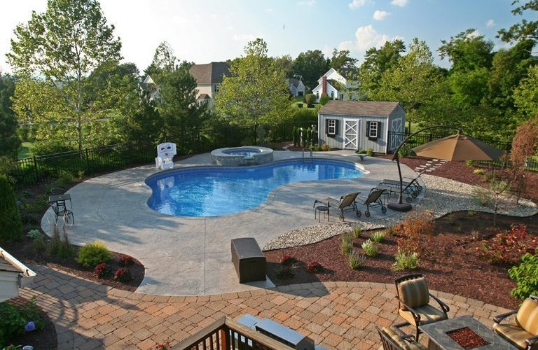 19D Lagoon Inground Pool - Southington, CT