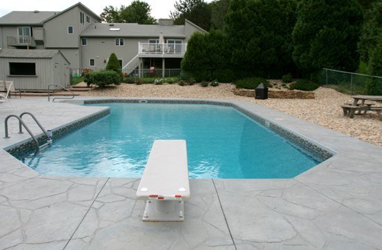 True L Inground Pool - East Granby, CT