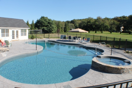20A Custom Inground Inground Pool - Wilbraham, MA