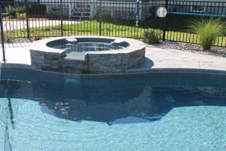 20B Custom Inground Inground Pool - Wilbraham, MA