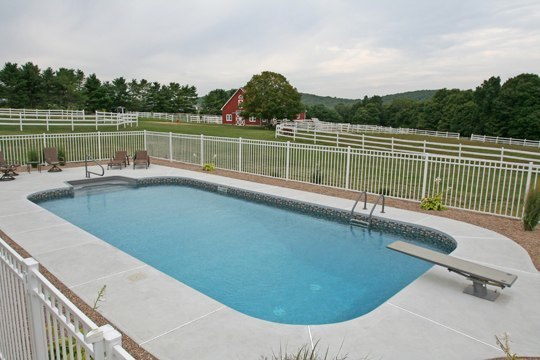 20B Rectangle Inground Pool