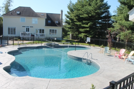 20C Custom Inground Inground Pool - Wilbraham, MA