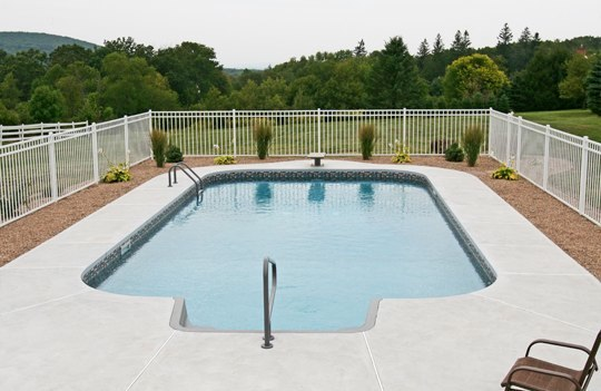 20C Rectangle Inground Pool