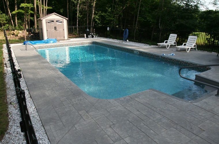 21A Rectangle Inground Pool