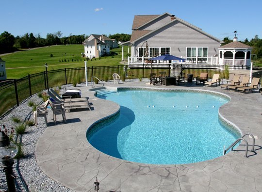 21B Lagoon Inground Pool - East Granby, CT