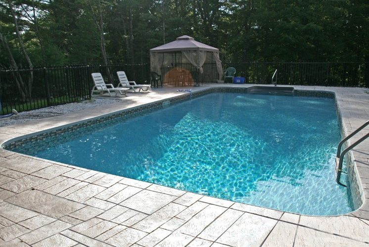21B Rectangle Inground Pool