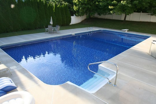 22A Rectangle Inground Pool