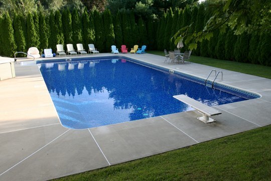 22B Rectangle Inground Pool