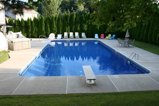 22D Rectangle Inground Pool