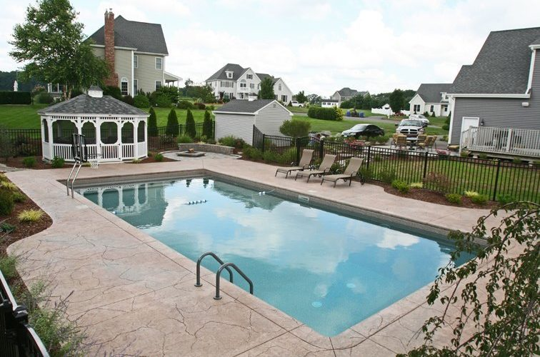 23A Rectangle Inground Pool