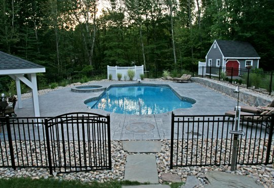 24A Custom Inground Inground Pool - Hebron, CT