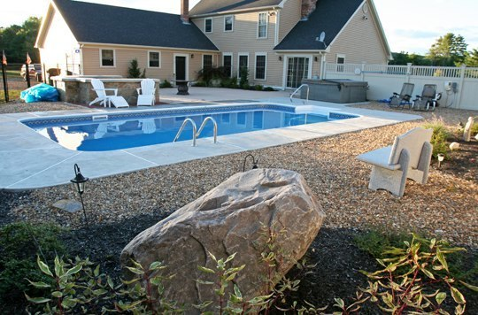 24A Rectangle Inground Pool