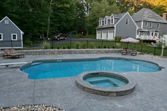 24B Custom Inground Inground Pool - Hebron, CT