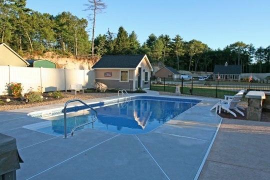 24D Rectangle Inground Pool