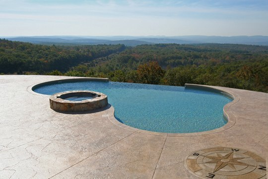 25A Custom Inground Inground Pool - Glastonbury, CT