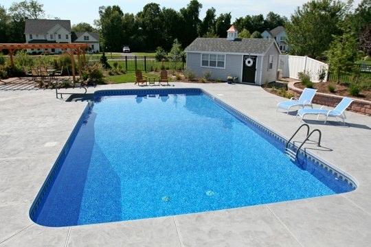 25A Rectangle Inground Pool