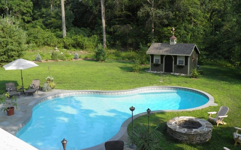 25D Lagoon Inground Pool - Middletown, CT