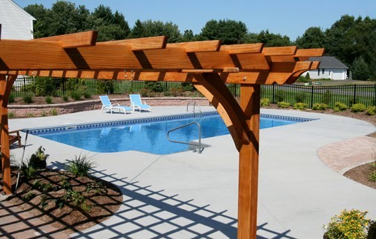 25D Rectangle Inground Pool