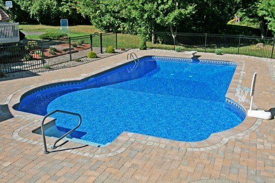 26D Custom Inground Inground Pool - Tolland, CT