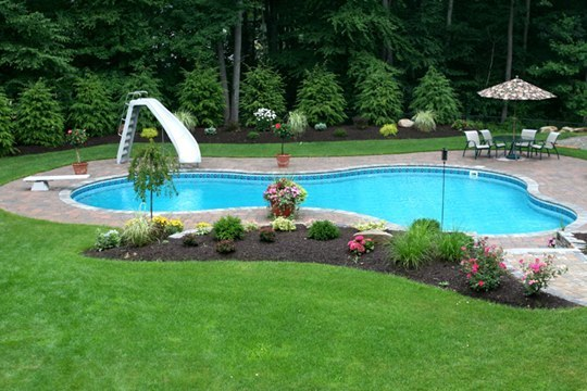 27B Lagoon Inground Pool -Tolland, CT