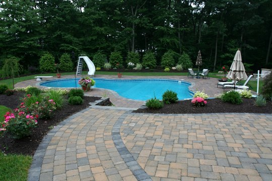 27D Lagoon Inground Pool -Tolland, CT