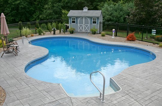 28B Lagoon Inground Pool -Tolland, CT