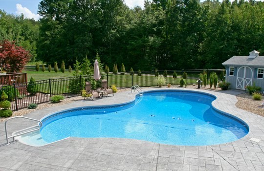 28D Lagoon Inground Pool -Tolland, CT