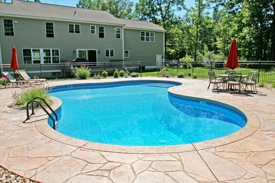 29D Lagoon Inground Pool -Tolland, CT
