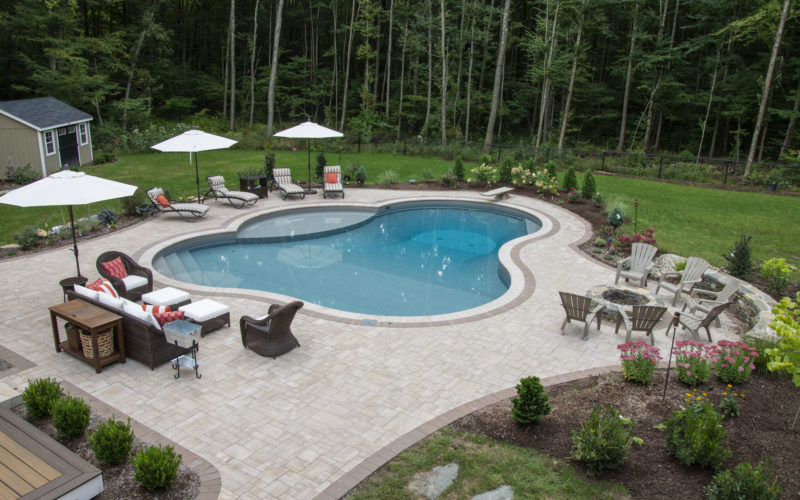 2A Custom Inground Pool - Tolland, CT