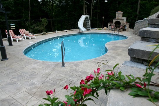 2A Kidney Inground Pool - Russell, MA