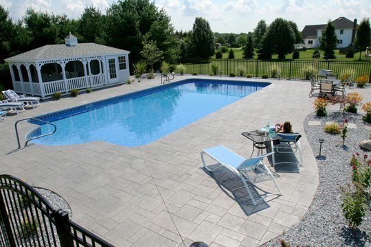 2D Patrician Inground Pool - South Windsor, CT