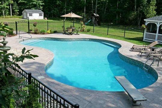31B Lagoon Inground Pool -Tolland, CT
