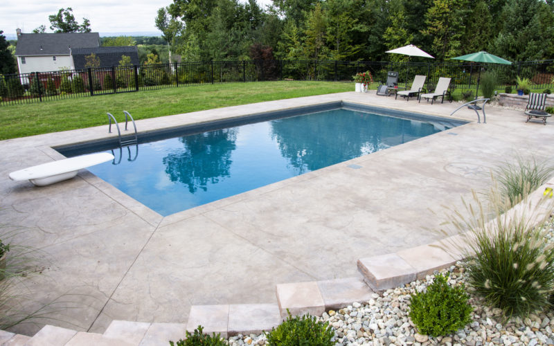 3A Rectangle Inground Pool - East Longmeadow, MA