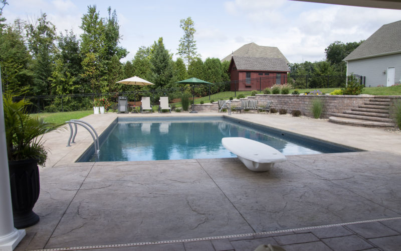 3C Rectangle Inground Pool - East Longmeadow, MA
