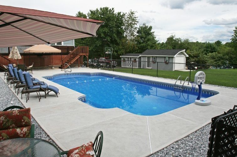 3D Patrician Inground Pool - North Windham, CT